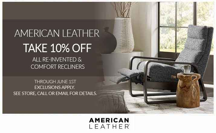 American Leather Comfort Recliners & Re-Invented
