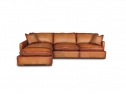 Downtown Leather Sectional Er Sectional Collection Eleanor