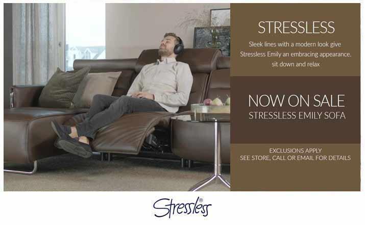 Stressless Emily Power Sofa by Ekornes