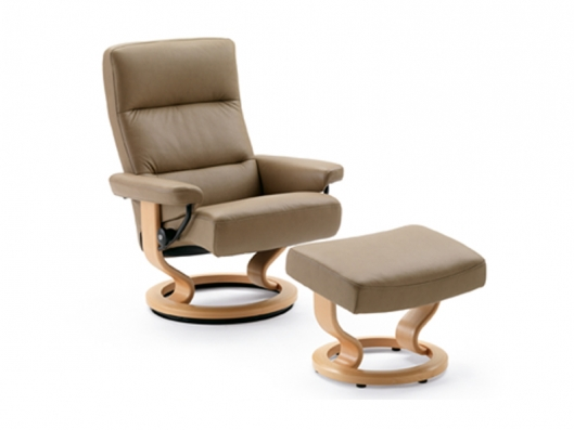 Chair Pacific Stressless Recliner Ekornes Outlet Discount Furniture