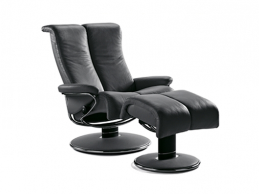 chair blues medium stressless recliner ekornes outlet discount