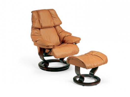 Chair Reno Stressless Recliner Ekornes Outlet Discount Furniture