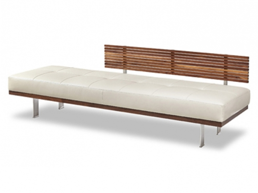 Knox Bench Knox American Walnut American Leather Outlet