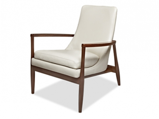 Aaron Chair Aaron American Walnut American Leather Outlet
