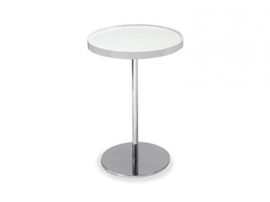 Calligaris Cs 5038 Rds Edi Paolo Ciani Tray Small High Round Coffee Table