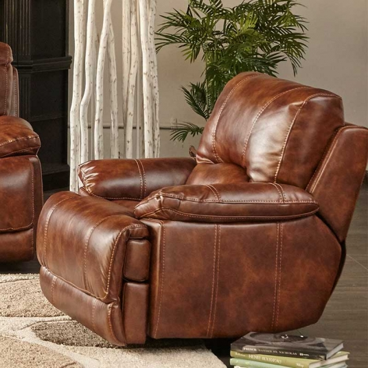 Miraculous Brown Leather Recliner Cheers Rf Modern Outlet Discount Onthecornerstone Fun Painted Chair Ideas Images Onthecornerstoneorg