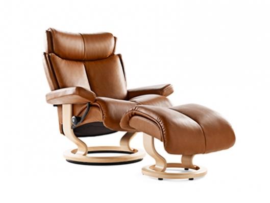 Chair Magic Medium Stressless Recliner Ekornes Outlet Discount Furniture Sele