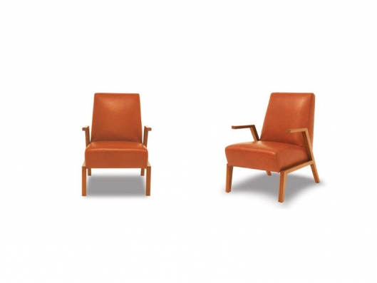 Swing Leather Arm Chair Er Arm Chair Collection Eleanor