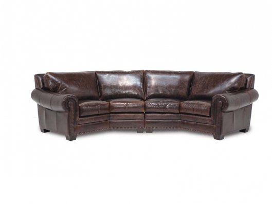 Tulsa Leather Sectional ER Sectional Collection Eleanor