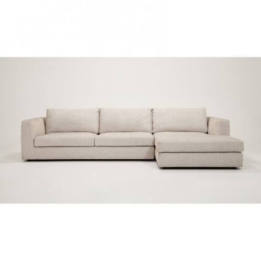 2 Piece Sectional Sofa With Chaise Fabric Cello EQ3 Outlet