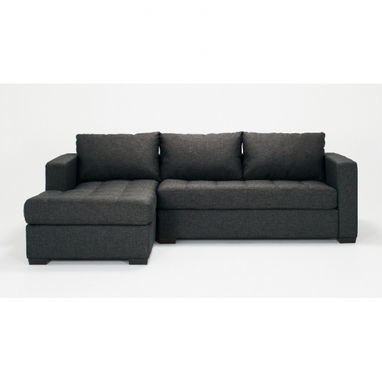 2 Piece Sectional Sofa With Chaise Fabric Porter EQ3