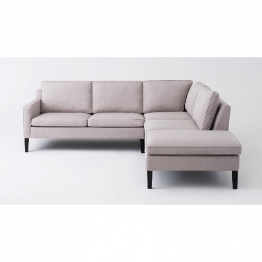 2 Piece Sectional Sofa With Corner Chaise Fabric Skye EQ3