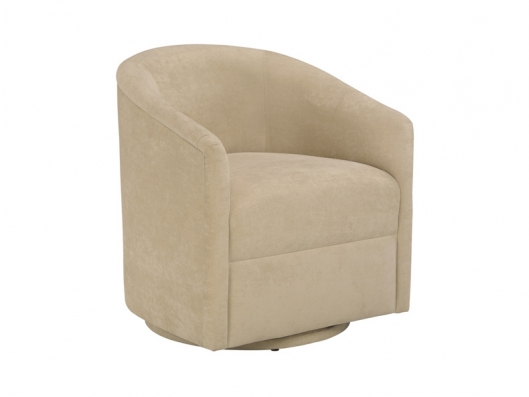 Natuzzi Barrel Swivel Chair images