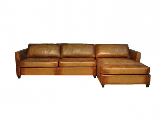 Sectional AL 1008 Leather Sectional Artistic Leathers