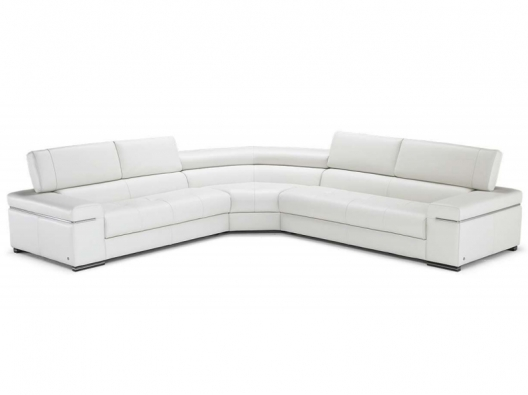 Leather Sectional 2570 Avana Natuzzi Italia Outlet