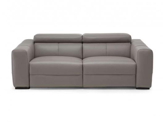 Leather Sofa 3030 Balance Natuzzi Italia Outlet Discount