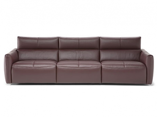 Leather Sofa 3029 Galaxy Natuzzi Italia Outlet Discount