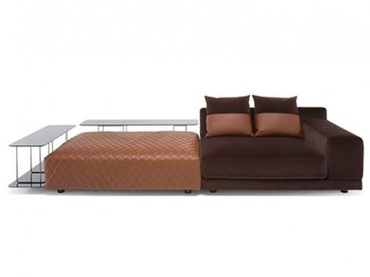 Leather Sofa 3039 Melpot Natuzzi Italia Outlet Discount