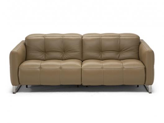 Leather Sofa 2957 Philo Natuzzi Italia Outlet Discount
