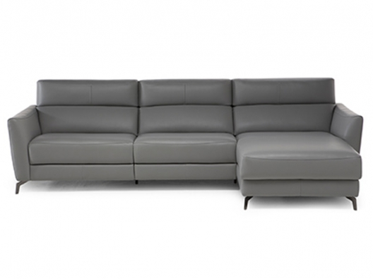 Leather Sofa 3035 Stan Natuzzi Italia Outlet Discount