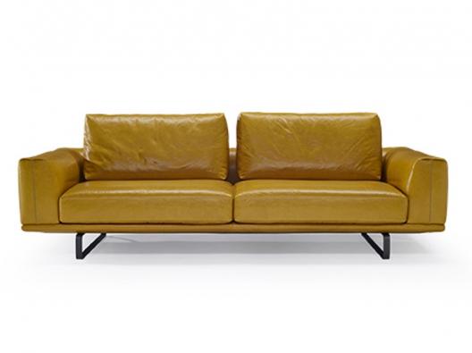 Leather Sofa 2834 Tempo Natuzzi Italia Outlet Discount