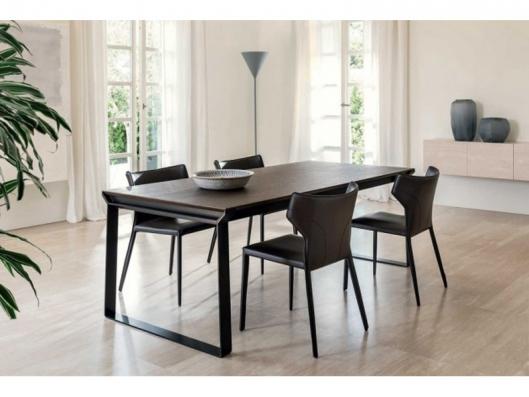 Omega Dining Table E007 Night And Day Natuzzi Italia