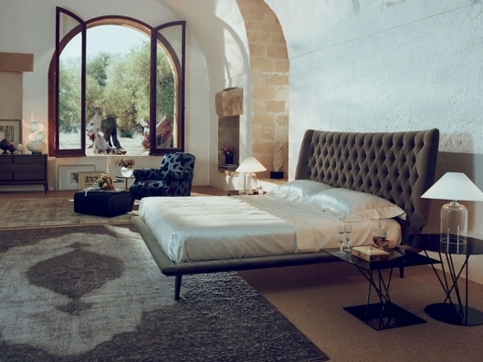 Bed Dolcevita Natuzzi Italia Outlet Discount Furniture