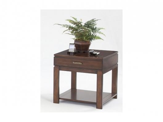 Drawer End Table P412 04 Miramar Contemporary Progressive
