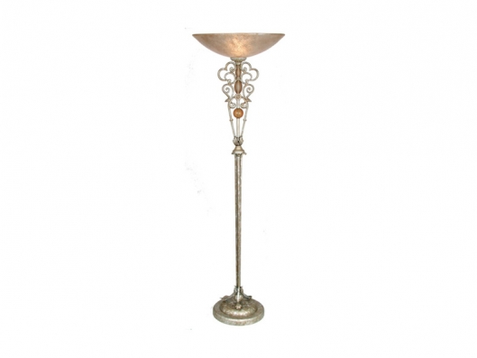 Aragon Floor Lamp 603881 Flamenco VAN TEAL Outlet Discount ...
