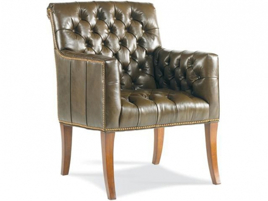 Leather Accent Chair 1262 01 Metropolitan Whittemore