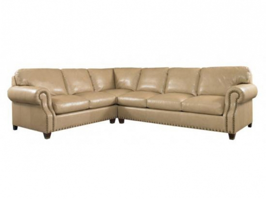 Leather Sectional Clics Whittemore Sherrill