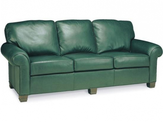 Leather Sofa 1942 03 Classics Whittemore Sherrill Outlet Discount