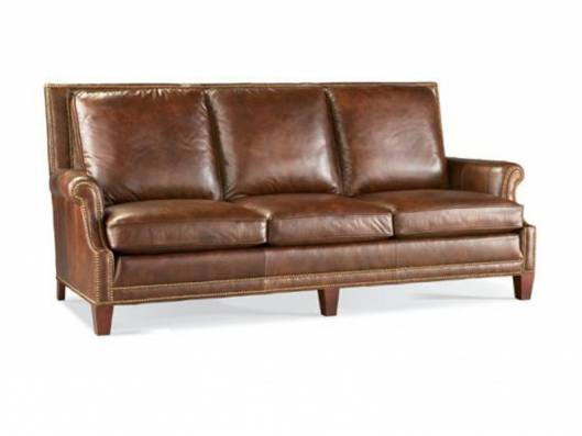 Leather Sofa Clics Whittemore Sherrill