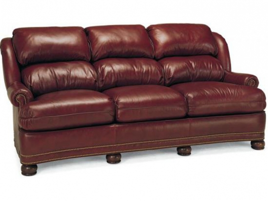 Leather Sofa 219 03 Classics Whittemore Sherrill Outlet