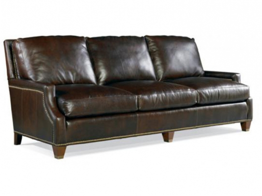 Leather Sofa 438 03 Metropolitan Whittemore Sherrill