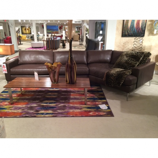 Oliver Sectional American Leather Outlet Discount