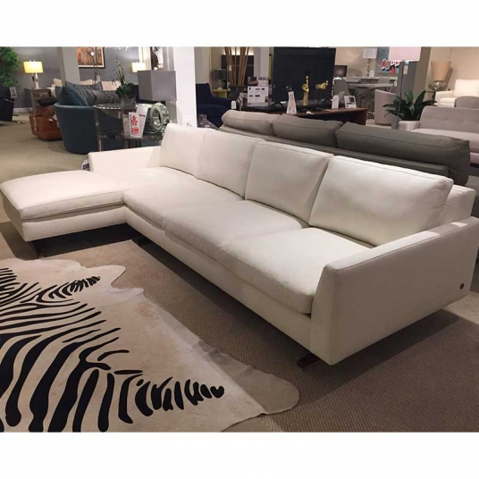 Flynn Sectional American Leather Outlet Discount Furniture
