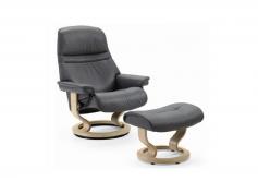 Chair Sunrise Medium Stressless Recliner Ekornes Outlet Discount