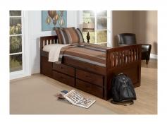 santiago casual progressive captains amisco newton kid bed 12169 39 furniture