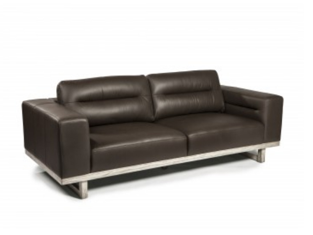 Cairo leather sectional