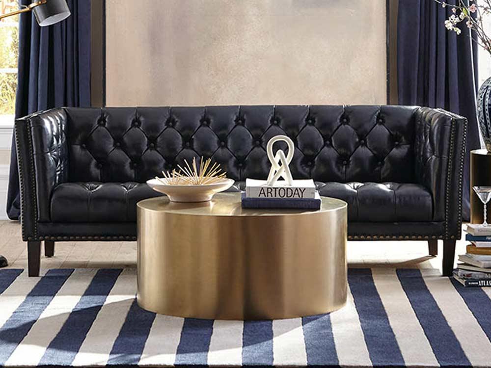 Kingston Leather Sofa