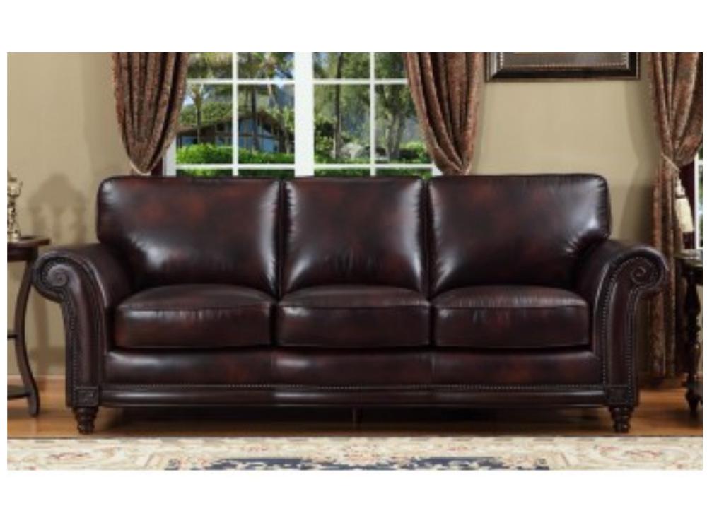 Nairobi Leather Sofa