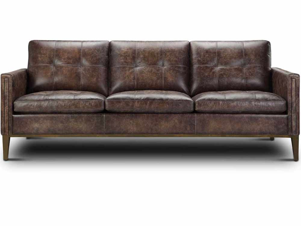 Gable Leather Sofa