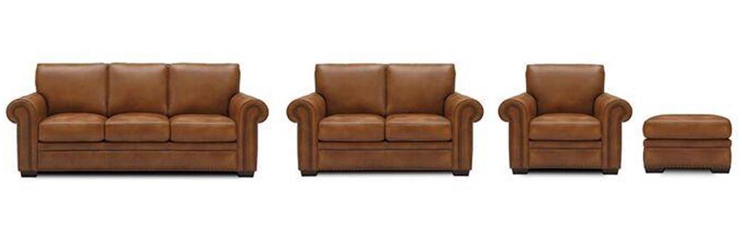 Sofa, Chair Ottoman options