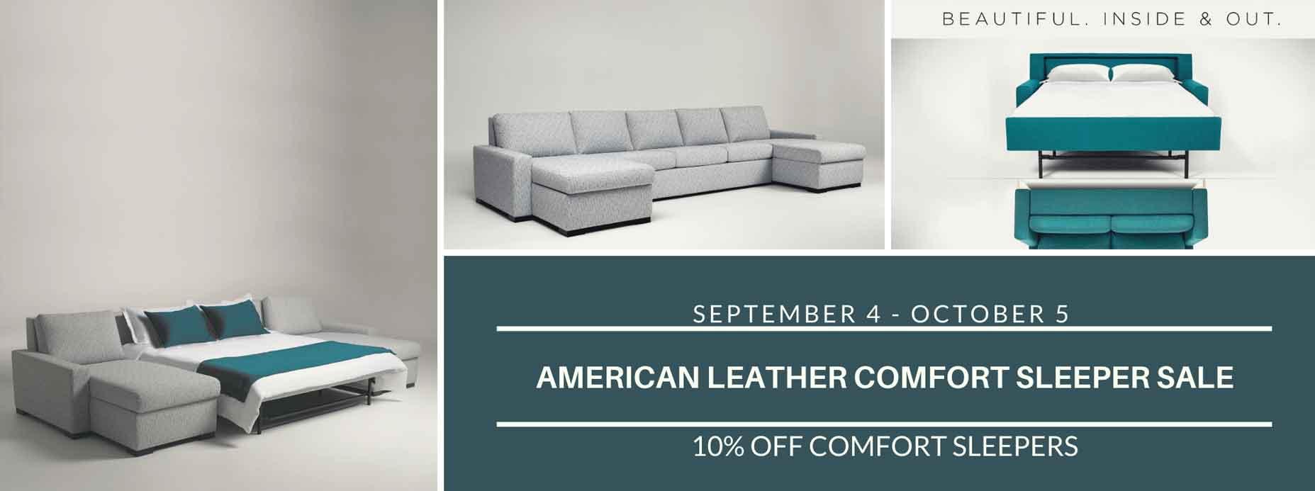 10% OFF American Leather Comfort Sleeper