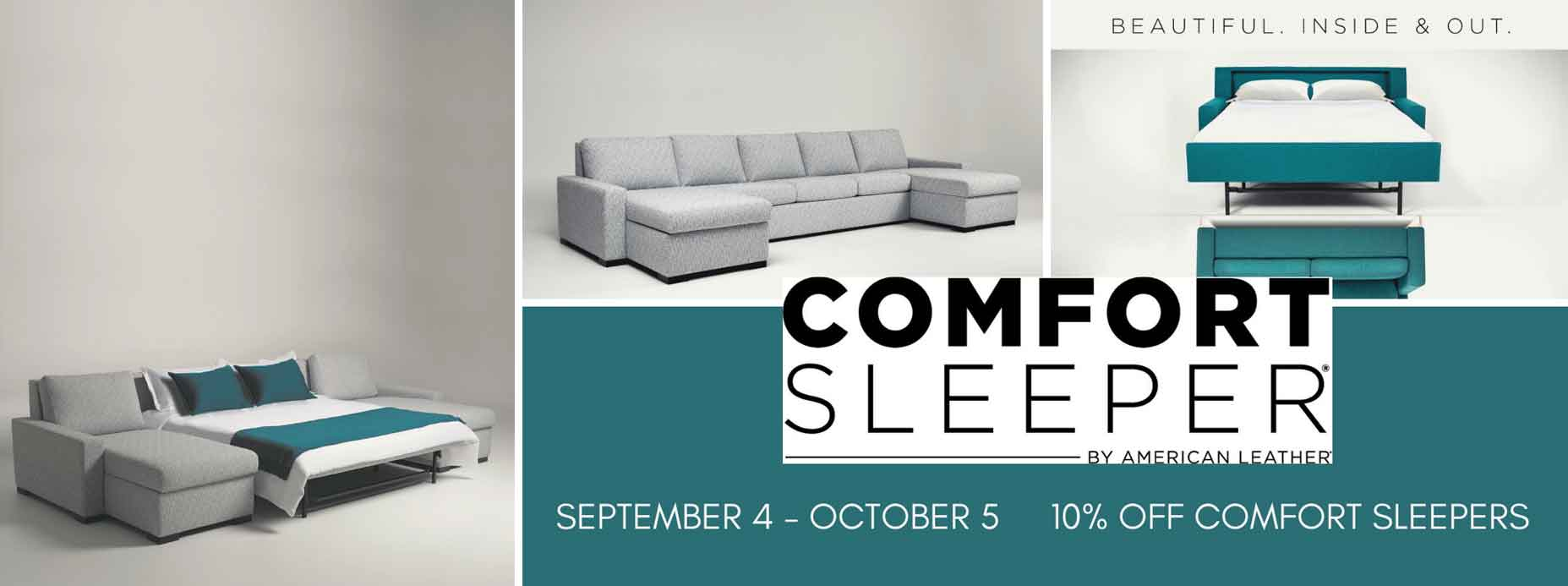 Save 10% off on American Leather Comfort Sleeper
