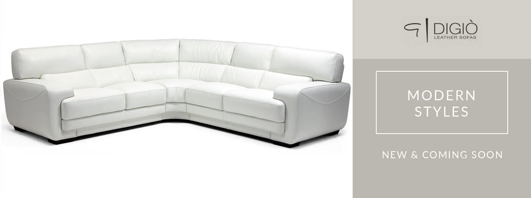 Digio Leather Sectional