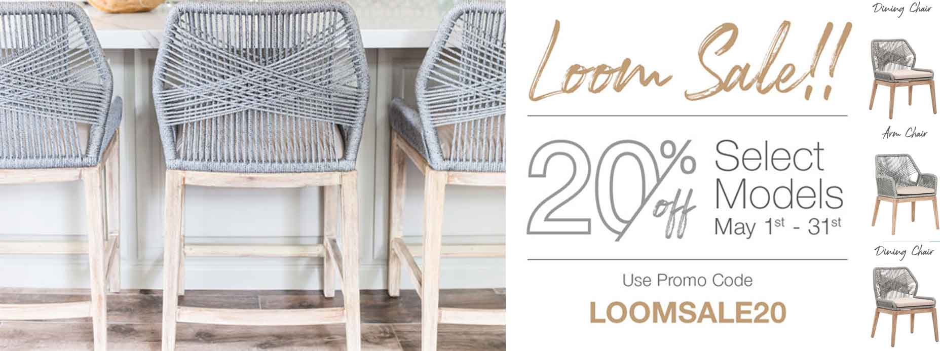 Loom Essentials For Living Dining Seating