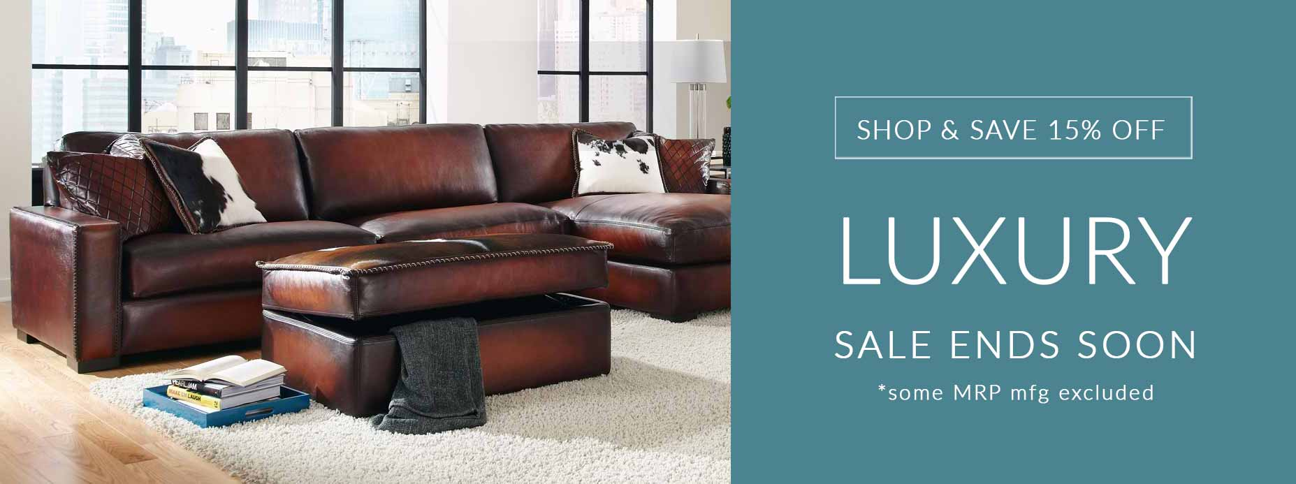 Eleanor Rigby Home Leather Sofa