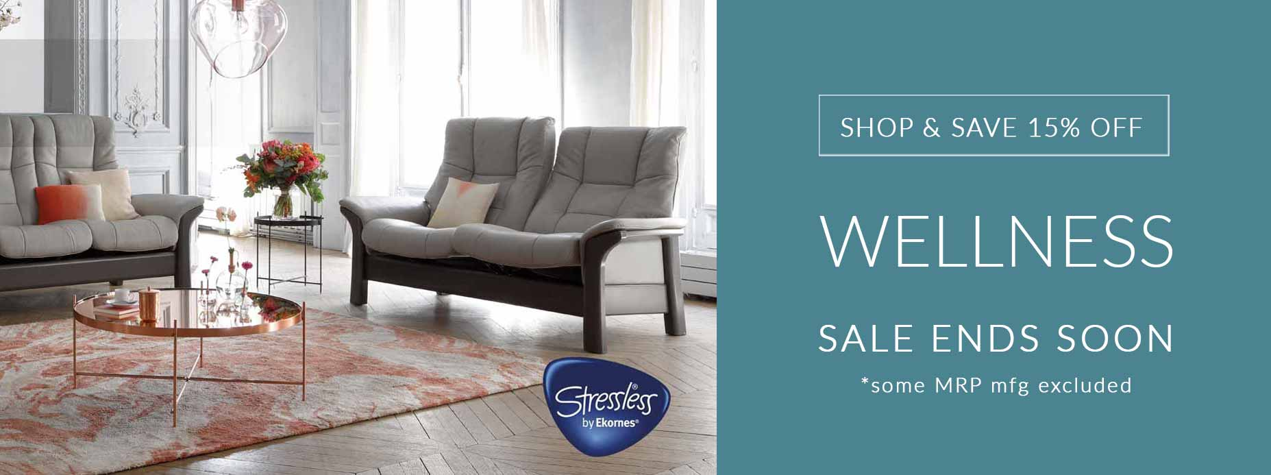 Stressless Recliners & Sofas
